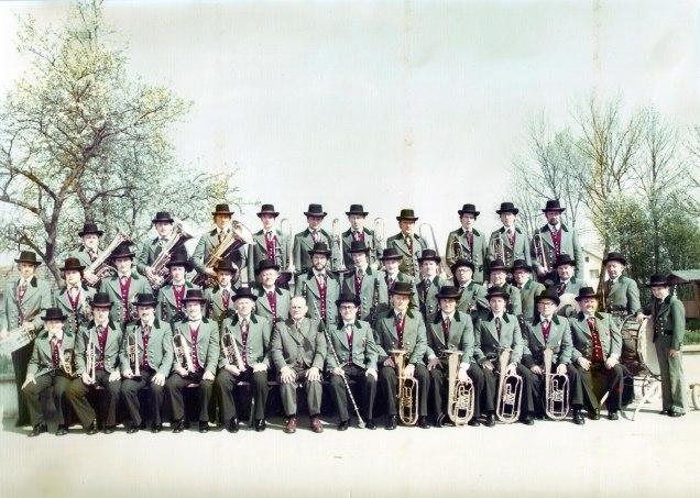 Musikverein Krenglbach Mai 1978