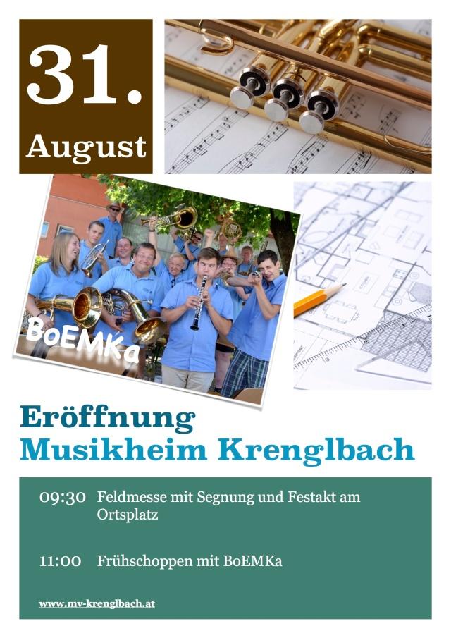 Musikheim Eröffnung